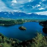 Stunning Lake Bled and Island, Slovenia