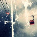 The Peak to Peak Gondola in Whistler, British Columbia
