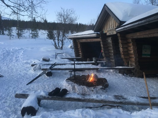 Traditional hut - Lapland