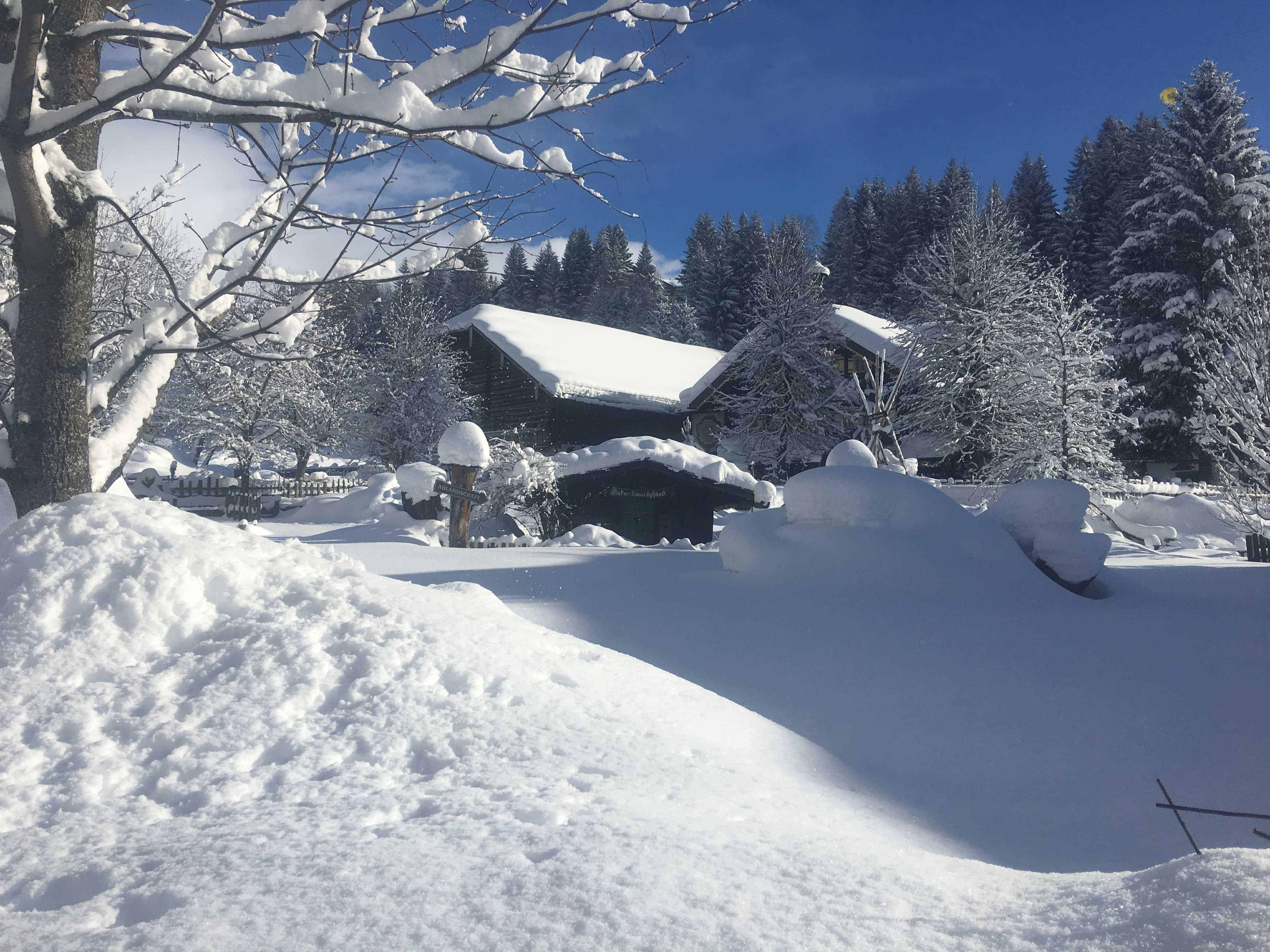 Filzmoos in the snow