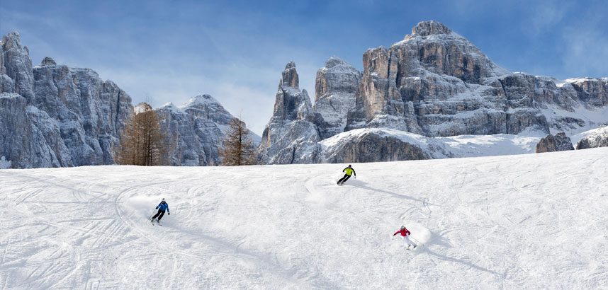 Reasons to ski in Italy - the scenery