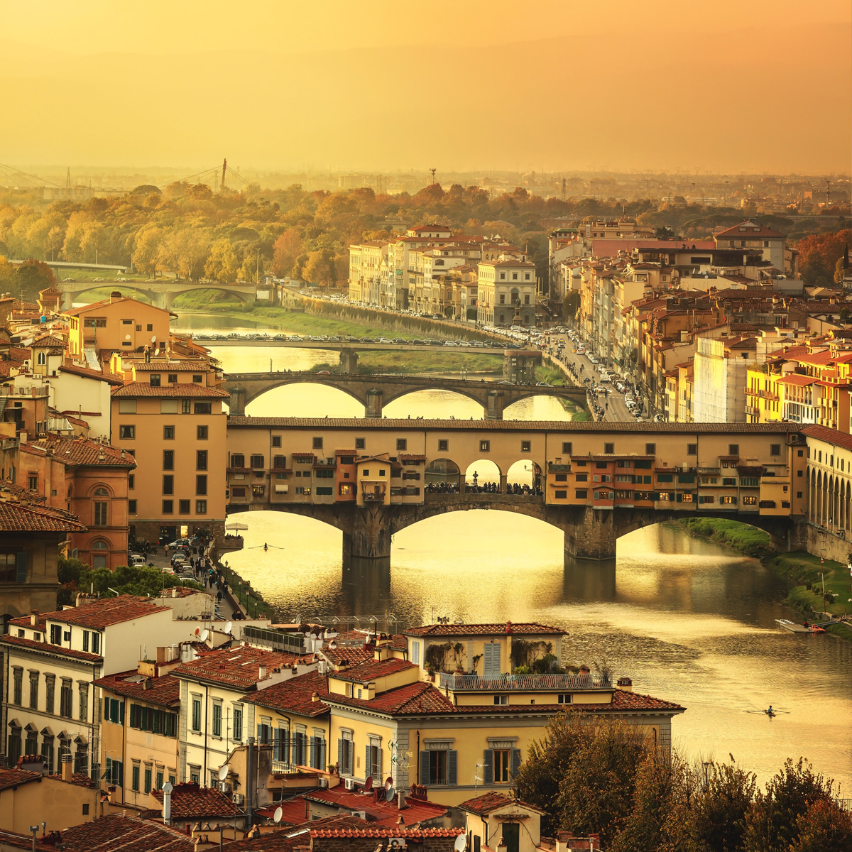 Florence -The city where Leonardo began to master his craft
