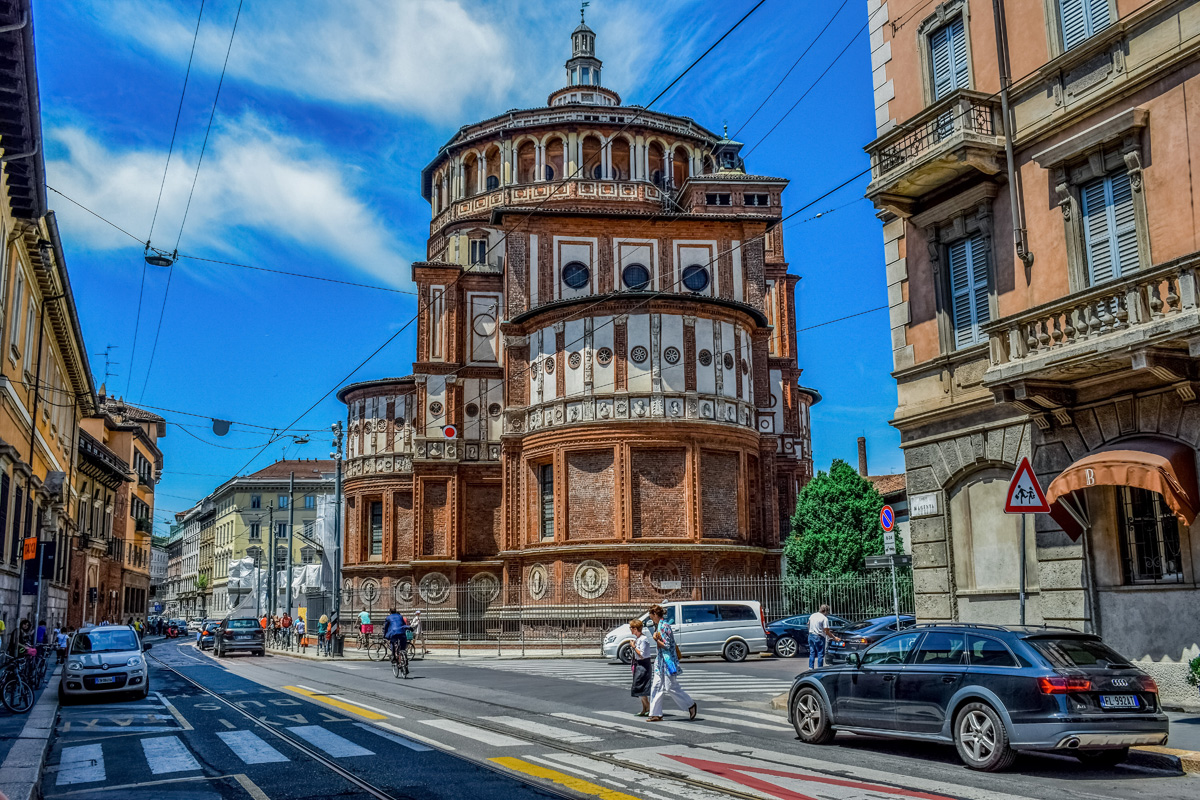 Milan, Santa Maria Della Grazie – home to Leonardo's Last Supper