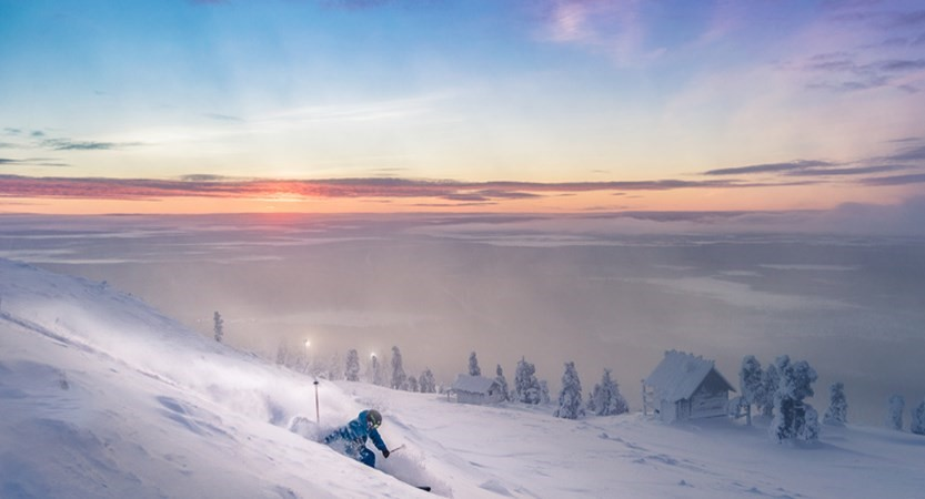 Skiing on a Lapland Holiday