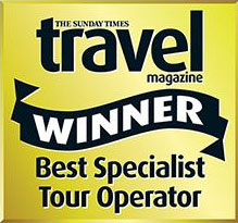 Sunday Times Travel winner